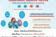 วัคซีนป้องกันไข้หวัดใหญ่ 2019